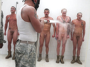 The Hazing, The Showering and The Fucking - TroopCandy