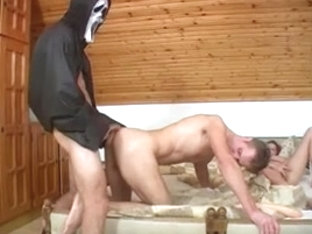 Bisexual guys getting deep anal treatment