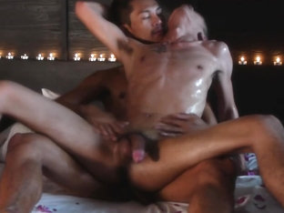AsiaBoy Video: Mutual Masturbation