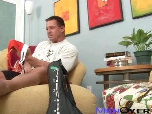MenOver30 Video: Jock-Strapped Daddy