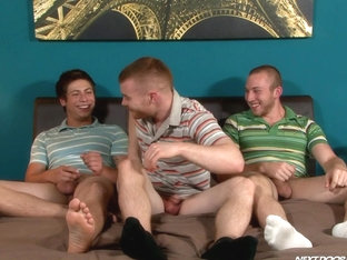 NextDoorBuddies Video: Three for the Money