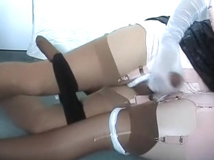Crazy homemade gay scene with Dildos/Toys, Crossdressers scenes