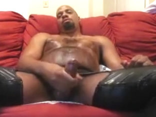 JERKING OFF IN LEATHER
