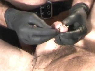 Stitching a pisshole