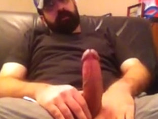 Stroking my big italian cock and talking dirty