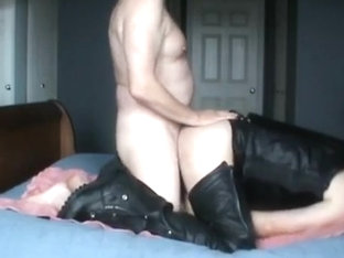 Fucking a man in leather chaps during IML