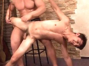 Spanking Rudolf and Ivan