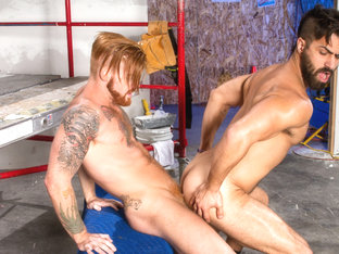 Adam Ramzi & Bennett Anthony in Erect This!, Scene 04 - RagingStallion