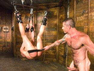 Master Nick Moretti and slave chad rock