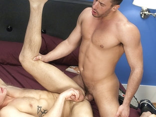 Logan Scott & Trent Diesel in Backroom Exclusives 26 Scene