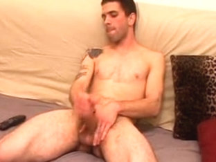 Lovely gay hunks in gay anal action