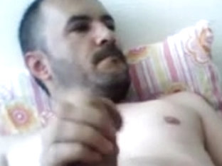 Masturbating Turkey-Turkish Bear Mehmet Smokes And Jacks Off