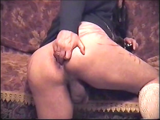 Self Spanking And Anal In The Dining Room-part 4 climax