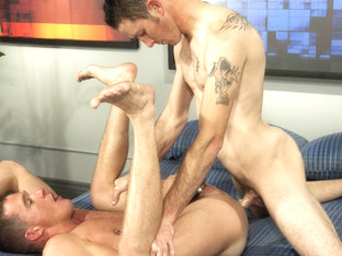 Danny Brooks & Jackson Lawless in Backroom Exclusives 20 Scene
