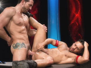 Fire And Ice XXX Video: Jimmy Durano & Bruno Bernal - FalconStudios