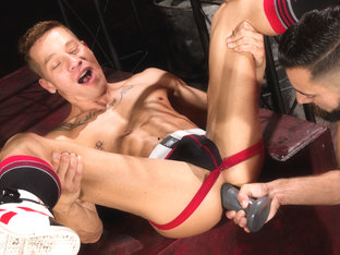 Dean Brody & Logan Mathews in Greedy Hole, Scene #05