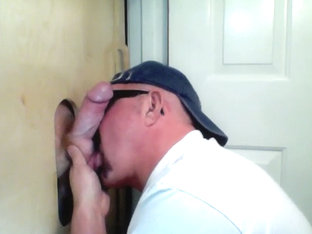 Redhead Gets a Gloryhole Suck Off - GloryholeHookups