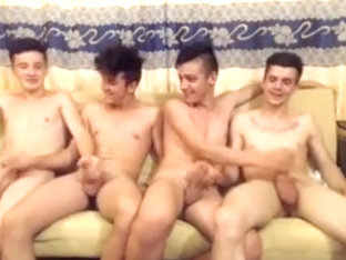 Romanian boys go gay fuck their friend on cam