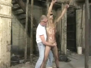 Exotic male in fabulous fetish, bdsm homosexual porn movie