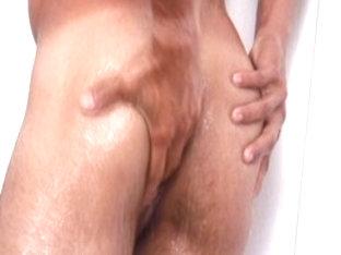 Amazing male pornstar Jorge Roiz in hottest uniform, latins homosexual porn scene