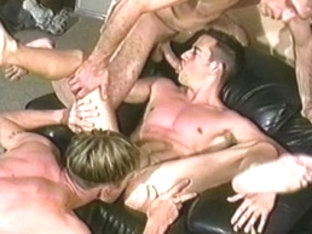 Best male pornstars Kurt Roberts, Vincent DeMarco and Bryon Rogers in horny rimming, blowjob homo .