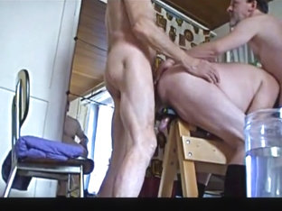 Incredible amateur gay video with Young/Old, Group Sex scenes