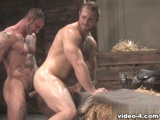 Ricky Sinz & Paul Wagner in Roll In The Hay, Scene #03