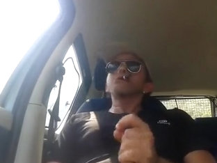 smoking cigar and wanking in my car