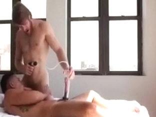 Hot man fucks that hot hole