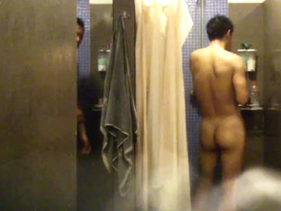 Spy cam chinese gym locker room 011