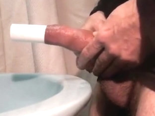 two,75 inches lengthy plastic tube in foreskin