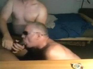 old guy sucking black bear