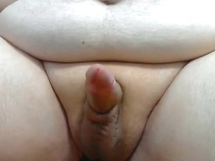 Chub cums after three days of no touching