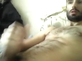 Horny French Guy wanks - 2