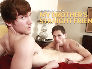Scotty Zee & Roman Todd in My Brother's Straight Friend XXX Video - NextdoorBuddies