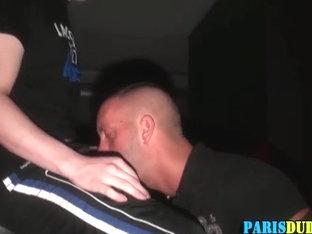 Fetish euro amateur licks feet