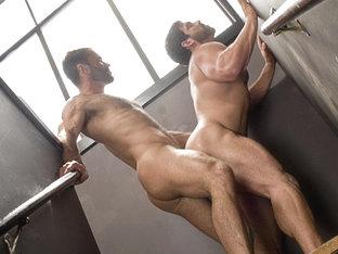 Wilfried Knight & Vince Firelli in Caught On Tape, Scene #01