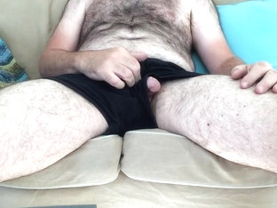Daddy beat jacking off