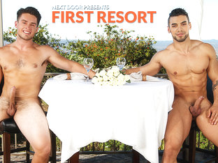 Arad & Jordan Evans in First Resort XXX Video