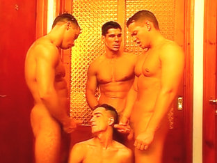 Gay Anal Sex Orgy In Luxurious Mansion