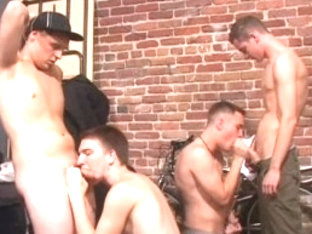 Amazing male pornstars Gunner Raines, Camden DeMarko and Brayden Stone in incredible dilettante, s.