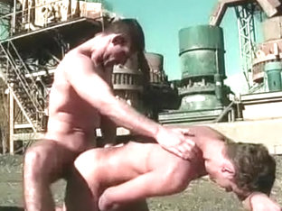 Incredible male in horny public sex, fetish gay adult clip