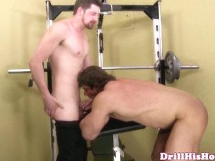 Zeb Atlas and Andrew Stark suck cock