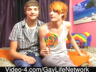 Blake Allen & Preston Andrews - Glad 100th Scene, LollipopTwinks!