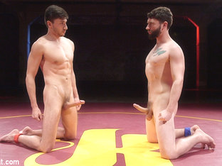 Scott DeMarco & Jackson Fillmore in Boner Fight - Winner Gets To Fuck The Loser - NakedKombat