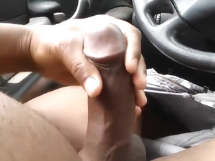 Public mastrubation and cumshot 08.11.2014