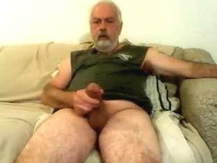 stroking my hard cock till i cum.
