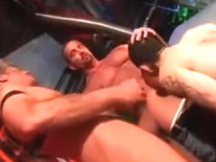 Hairy assed lad used by 2 men