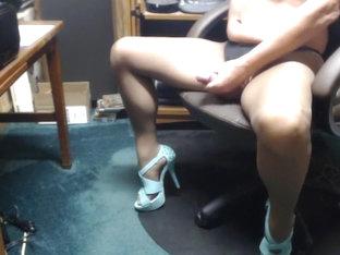 Pantyhose scene 2
