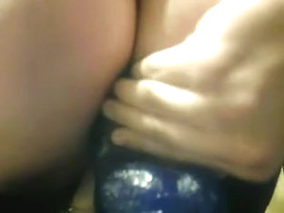 My Big Blue Dildo and guest (part 9)